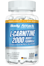 Body Attack L-Carnitine 1500 - 100 Caps