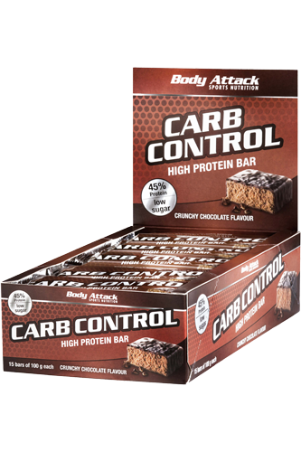 Body Attack Carb Control-Protein Bar 15x100g