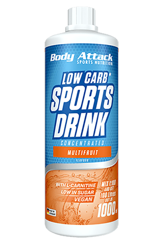 Body Attack Low Carb* Sports Drink - 1000 ml