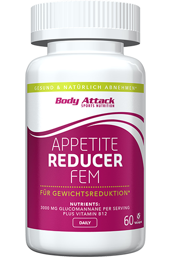 Body Attack Appetite Reducer FEM - 60 Caps