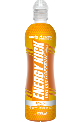 Body Attack Energy Kick - 500 ml
