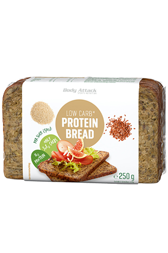 Body Attack Low Carb* Protein Bread - 250g