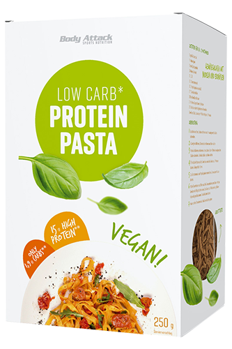 Body Attack Low-Carb* Protein Pasta Vegan - 250g