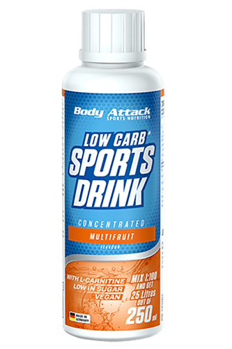 Body Attack Low Carb* Sports Drink - 250 ml