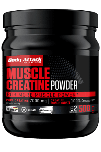 Body Attack Muscle Creatine (Creapure<sup>®</sup>) - 500g