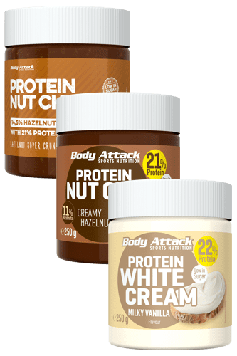 Body Attack Protein Nut Choc Variety Pack - 3 pack
