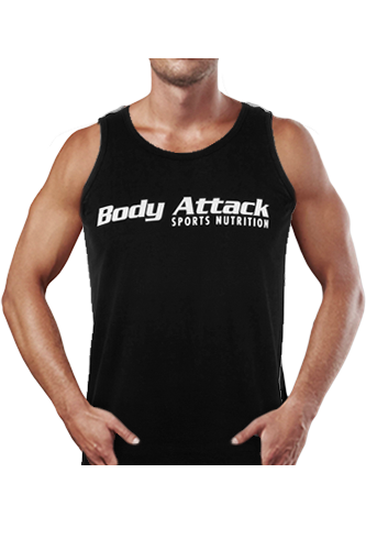 Body Attack Sports Nutrition Tank Top black