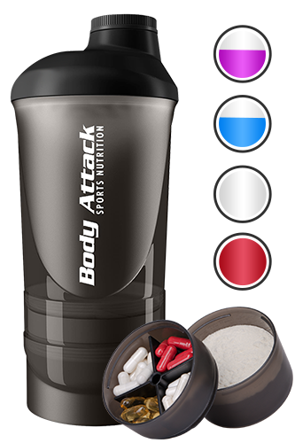 Body Attack Sports Nutrition Shaker ShakeOne - 600ml