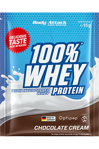 Body Attack 100% Whey Protein - 15g Sample