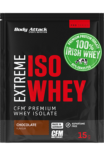 Body Attack Extreme ISO Whey - Sample 15g