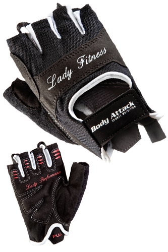 Body Attack Sports Nutrition Lady Fitness Weightlifting Gloves
