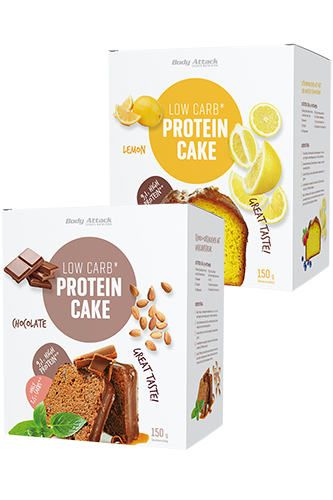 Body Attack Low Carb* Protein Cake - 150g