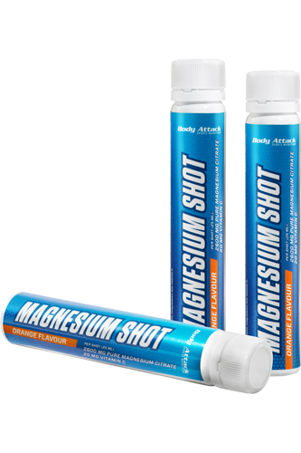 Body Attack Magnesium Shot 25ml ampoule