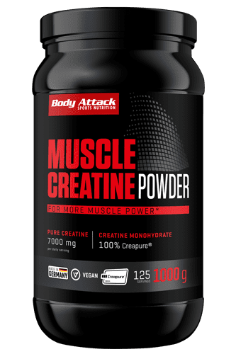 Body Attack Muscle Creatine (Creapure<sup>®</sup>) - 1kg