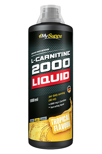 My Supps L-Carnitine 2000 Liquid - 1000ml