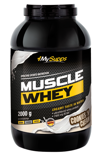 My Supps Muscle Whey - 2kg  remaining stock