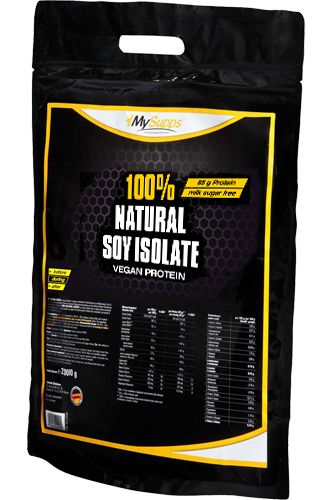 My Supps 100% Natural Soy Isolate - 2kg