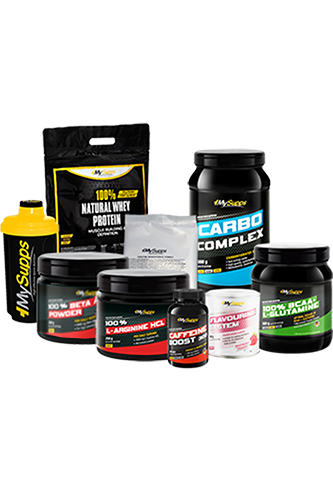 My Supps Pre Workout Paket Profi