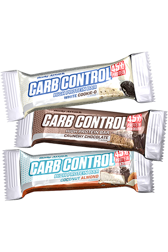 Body Attack Carb Control Proteinbar - 40g Remaining stock