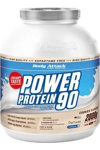 Body Attack Power Protein 90 - 2kg Remaining Stock