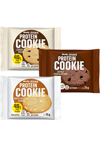 Body Attack Protein-Cookie - 75g remaining stock