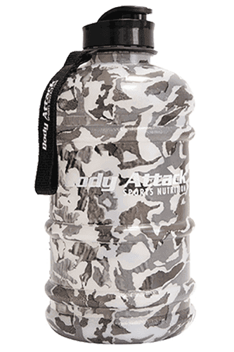 Body Attack Sports Nutrition Water Bottle XXL camouflage - 2,2 Liter