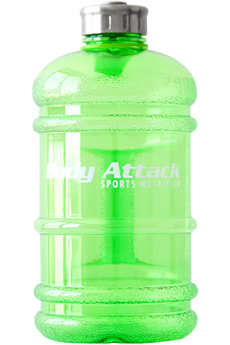 Body Attack Sports Nutrition Water Bottle XXL green - 2,2 Liter Remaining Stock