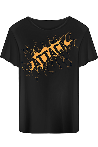Body Attack T-Shirt Attack black