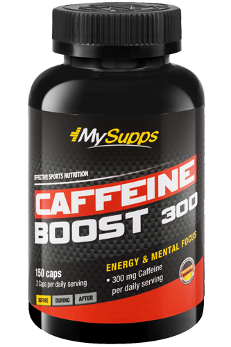 My Supps Caffeine Boost 300 - 150 Caps