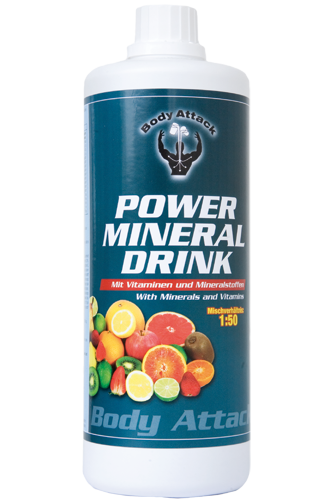 Body Attack Power Mineral Drink - 1L